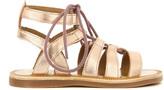 Pom D'Api Strap Guily Leather Gladiator Sandals