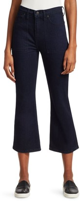 Proenza Schouler Pswl Comfort Stretch Flare Jeans