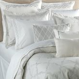Vera Wang Vera WangTM Fretwork King Pillow Sham in Light Cream