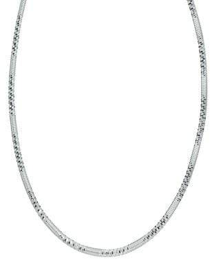 60caf05eef9a0 Screw-Edged Sterling Silver Necklace