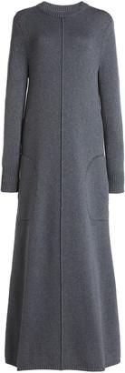 Peter Do Ribbed-Knit Maxi Sweater Dress