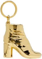 Maison Margiela SSENSE Exclusive Gold Tabi Boot Keychain