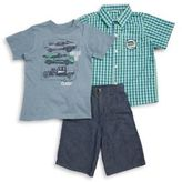 Nannette Boys Three-Piece Shirt