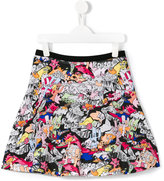 Kenzo Dancing Cactus skirt - kids - Cotton - 14 yrs