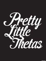 Dormify Kappa Alpha Theta Pretty Little Thetas Print