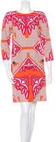Derek Lam Printed Shift Dress w/ Tags