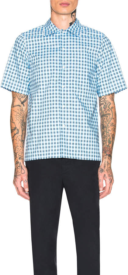 Marni Short Sleeve Sport Shirt