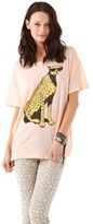 Wildfox Couture Jungle Cat Tee