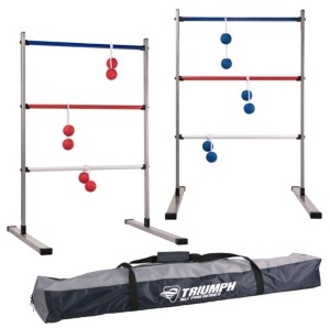 Viva Sol Triumph All Pro Series Press Fit Outdoor Ladderball Set Includes 6 Soft Ball Bolas and Durable Sport Carry Bag