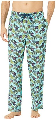 Tommy Bahama Cotton Modal Printed Knit Pants (Floral Pineapple) Men's Pajama