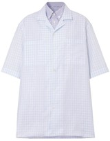 Burberry Oversized Gingham And Striped Shirt