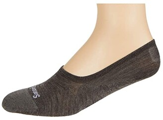 Smartwool Sneaker No Show 2-Pack (Taupe) Men's No Show Socks Shoes