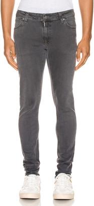 Nudie Jeans Skinny Lin in Concrete Grey | FWRD