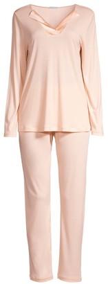 Hanro Two-Piece Fenja Pajama Set
