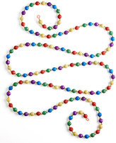 Kurt Adler 9' Multicolor Glitter Bead Tree Garland