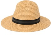 Vince Camuto Solid Straw Panama Hat