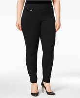 Alfani Plus Size Modern Skinny Pull-On Pants, Only at Macy's
