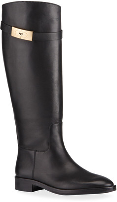 Tory Burch Tall Leather Riding Boots