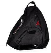 Jordan Nike Jumpman Sling Patent/Red Zipper Book-Bag BackPack Men/Women