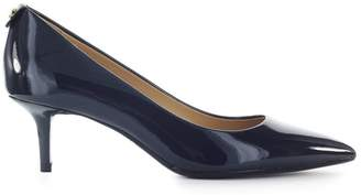 Michael Kors Flex Kitten Blue Patent Leather Pump
