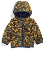 Columbia Infant Boy's Mini Pixel Grabber(TM) Ii Water Resistant Hooded Jacket
