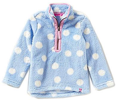 Joules Little Girls 3-6 1/4 Zip Pullover Sweater