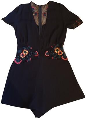 For Love & Lemons Black Viscose Dresses
