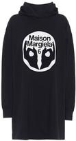 MM6 MAISON MARGIELA Oversized logo cotton hoodie