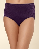 Soma Intimates Floral Lace Modern Brief