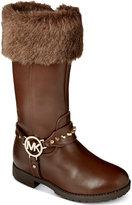 MICHAEL Michael Kors Girls' or Little Girls' Dhalia Hayden Faux-Fur Top Boots