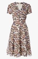 Derek Lam Short Sleeve V-Neck Dress
