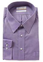 Roundtree & Yorke Gold Label Non-Iron Slim-Fit Point-Collar Royal Oxford Dress Shirt