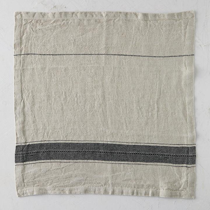terrain Washed Linen Stripe Napkin