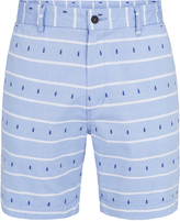 Oxford Henry Striped Shorts Nvy/Wht X
