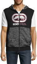 Ecko Unlimited Unltd Sleeveless Hooded Neck T-Shirt