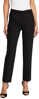 Theory Solid Straight Leg Jeans