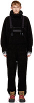 Napa By Martine Rose Black Wool Monk Overalls