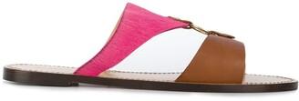 Tila March colour panel Tineo sandals