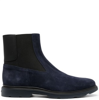 Hogan Elasticated Panel Ankle Boots