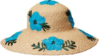 Gottex Women's Punta Cana Raffia Sunhat Packable Adjustable and UPF Rated