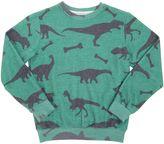 Madson Discount Dinosaur Printed Blend Cotton Sweatshirt