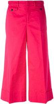No.21 wide leg cropped trousers - women - Cotton/Spandex/Elastane - 38