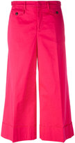 No.21 wide leg cropped trousers