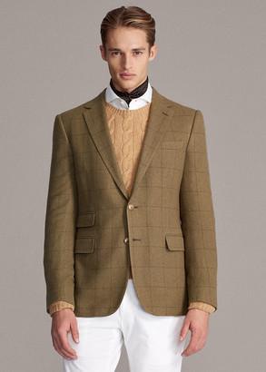 Ralph Lauren Gregory Windowpane Sport Coat