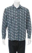 Robert Graham Floral Print Button-Up Shirt