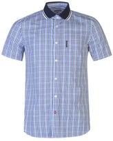 Lambretta Gingham Short Sleeve Shirt Mens