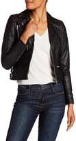 Muu Baa Muubaa Rengo Genuine Leather Biker Jacket