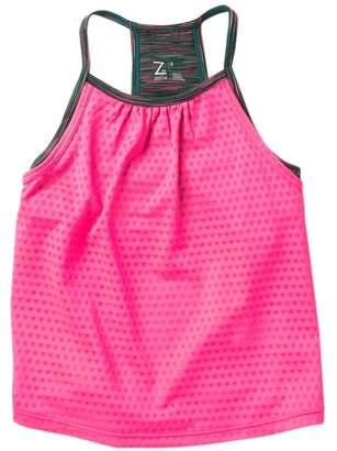 Zella Z By Space Dye Double Layer Tank Top (Little Girls)