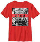 Fifth Sun Red 'Meow' Crewneck Tee - Youth