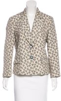 Etro Notch-Lapel Floral Pattern Jacket